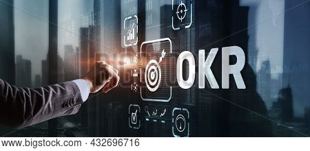 Objectives And Key Results Okr. Methods For Project Management
