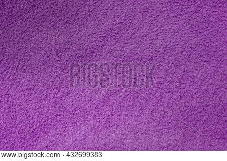 Purple Terry Texture. Towel Texture. Purple Background