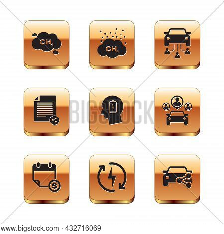 Set Methane Emissions Reduction, Financial Calendar, Recharging, Head With Low Battery, Share File A