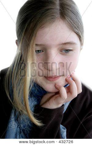 Pondering Teen