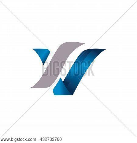 Letter W Stylish Logo Icon Flat Vector Concept Graphic Simple Stylish Design