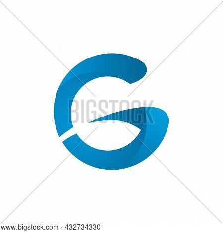 Stylish Letter G Logo Icon Flat Vector Concept Graphic Simple Stylish Design