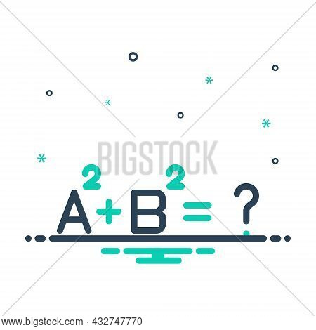 Mix Icon For Complicated Complicated Mathmatical Problem Question Complex Difficult  Hard Complexity