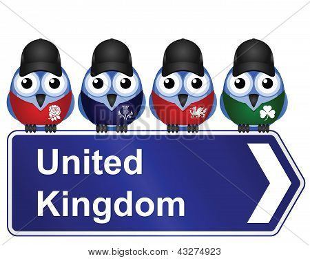 Bird sign United Kingdom