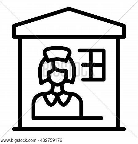 Woman Prejudice Icon Outline Vector. Gender Discrimination. Career Equality