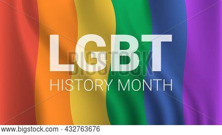 Transgender Love Lgbt History Month Celebration Descrimination Human Rights Violation Concept
