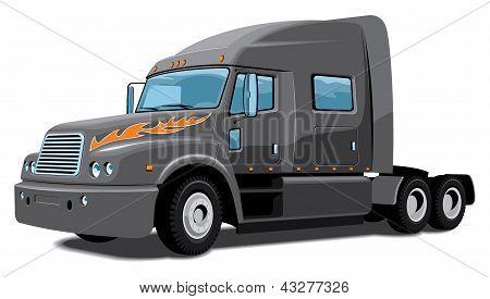 Semi truck - My design