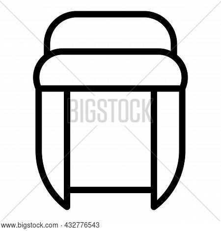 Bedouin Turban Icon Outline Vector. Muslim Hat. Indian Punjabi