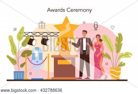 Event Management Concept. Holiday, Ceremony Or Corporate
