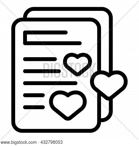 Favorite Sale Price Icon Outline Vector. Discount Tag. Promo Offer