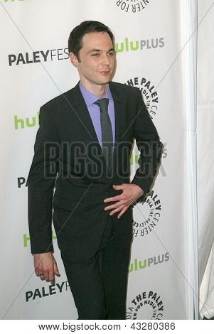 BEVERLY HILLS - MARCH 13: Jim Parsons arrives at the 2013 Paleyfest