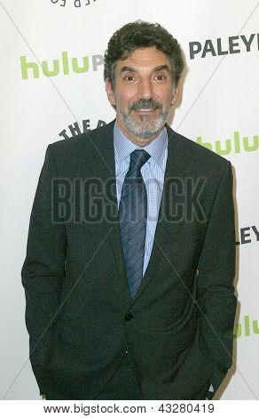 BEVERLY HILLS - MARCH 13: Chuck Lorre arrives at the 2013 Paleyfest