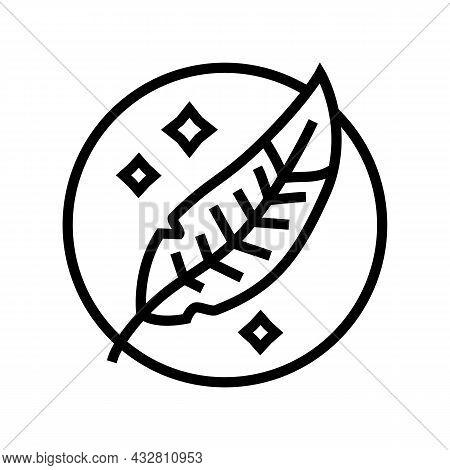 Delicate Wash Line Icon Vector. Delicate Wash Sign. Isolated Contour Symbol Black Illustration
