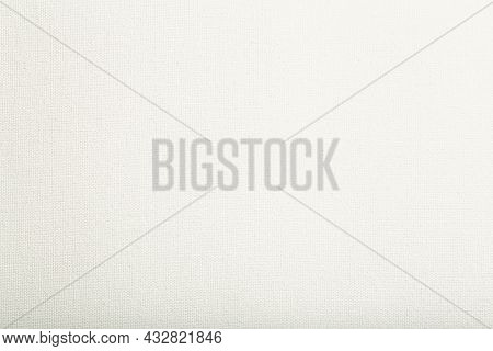 White Canvas Background. Canvas Texture For Painting Pictures