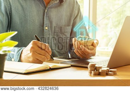 People Save Money To Build A House, Save Money To Build A Future In The Family Real Estate Finance,