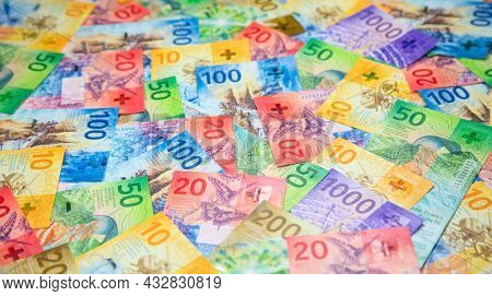 Collection of the new swiss banknotes (issued in 2017-2020)