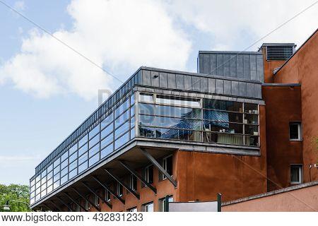 Stockholm, Sweden - August 9, 2019: Moderna Museum On The Island Of Skeppsholmen In Central Stockhol