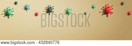 Viral Epidemic Influenza And Coronavirus Covid-19 Concept