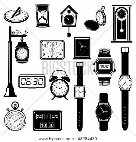 Clock/Watch evolution set