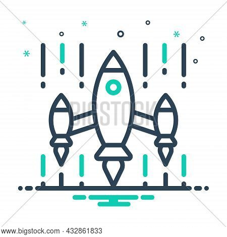 Mix Icon For Invasion Attack Aggression Onslaught Onslaught Exploration Rocket