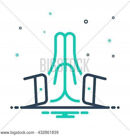 Mix Icon For Please Hand Pray Prayer Thank Namaste Sorry Human Religious Sign