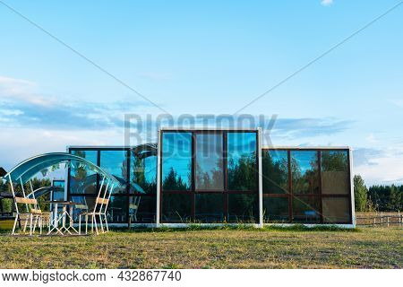 Compact Modular House Used As A Hostel In Tourist Places