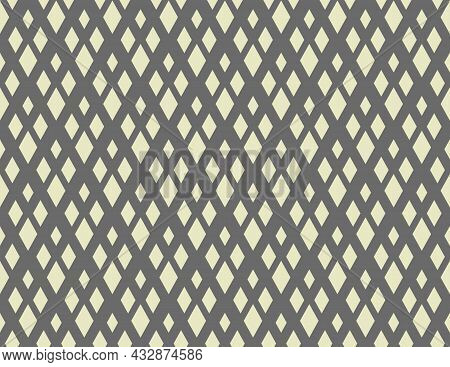 Abstract Geometric Pattern. A Seamless Vector Background. Gray Ornament. Graphic Modern Pattern. Sim