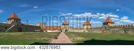 Inside Of Bender Fortress, Moldova