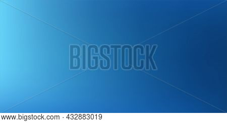 Abstract Light Blue Blurred Background, Smooth Gradient Texture Color, Shiny Bright Website Pattern,