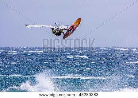Windsurfing On Gran Canaria.