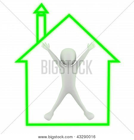 3D Small People - My House!