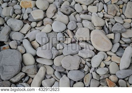 Stones On The Beach, Beautiful Stones On The Sea, Stones On The Sand, Rocky Shores.
