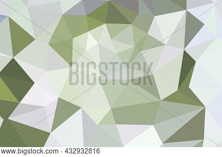 Abstract Triangulation Geometric Gray Background ..,application And Web Origami Style