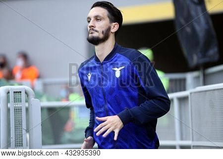 Milano, Italy. 12 September 2021. Luis Alberto Of Ss Lazio  During The Serie A Match Between Ac Mila