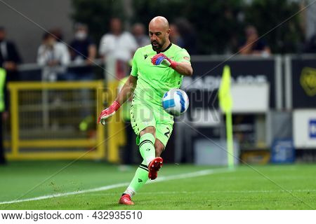 Milano, Italy. 12 September 2021. Pepe Reina Of Ss Lazio  During The Serie A Match Between Ac Milan