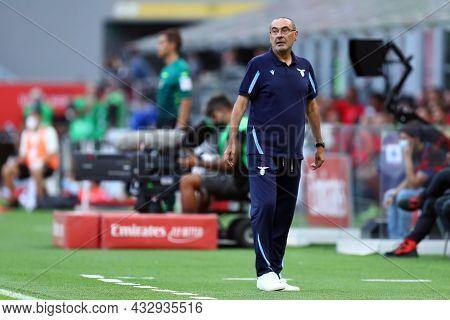 Milano, Italy. 12 September 2021. Maurizio Sarri, Head Coach Of Ss Lazio  During The Serie A Match B
