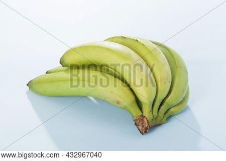 Organic Green Banana Delicious Tropical Fruit - Musa Paradisiaca