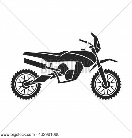 Motorcycle Vector Icon.black Vector Icon Isolated On White Background Motorcycle.