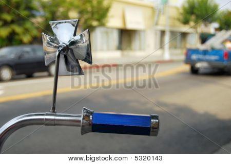 Low Rider Bicycle On La Street