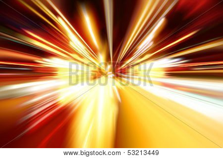 Night Speed Acceleration Motion