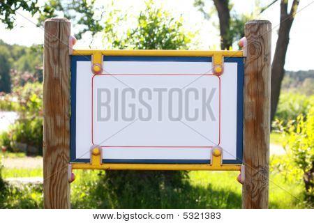 Blank Park Board