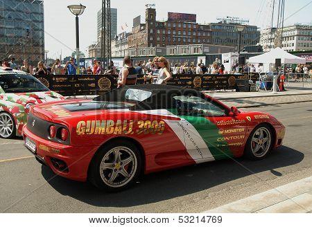 Gumball 3000 Starts In Copenhagen Denmark