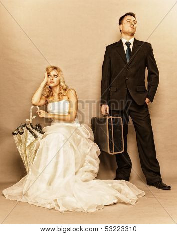 Married Couple Problem, Indifference Depression