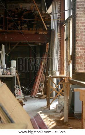 Building Under Renovation Construction