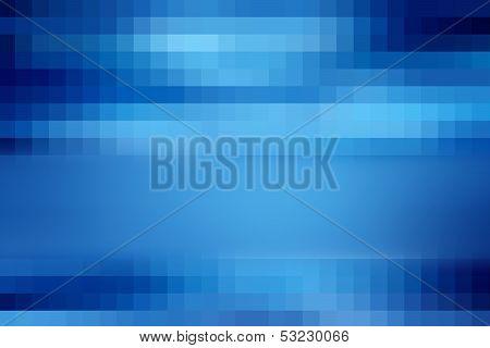 Blue pixel pattern