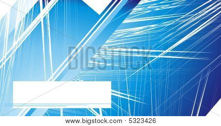 Abstract design business Card background with colorful lights poster