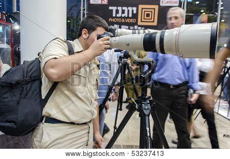 Tel Aviv, Israel - November 1 - 8Th Conference Photographs 2013 The School Of Photography  Galitz