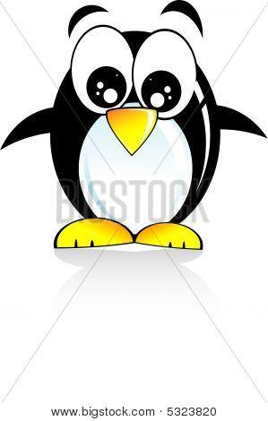 Penguin Cartoon Style