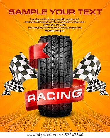 Rubber Tire & Racing Symbols