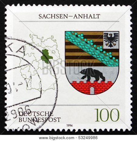 Postage Stamp Germany 1994 Coat Of Arms, Saxony-anhalt